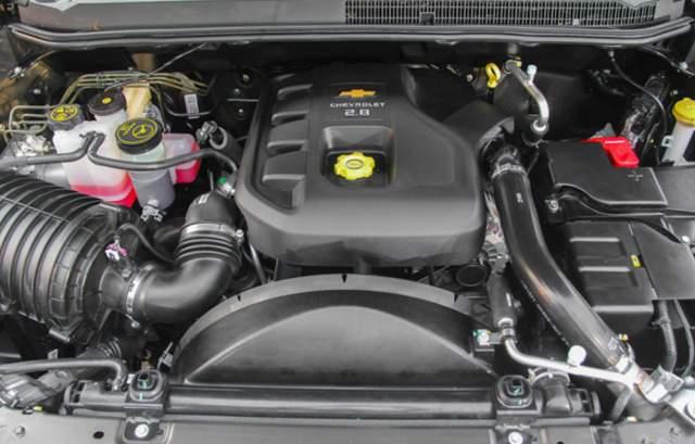 mesin Chevrolet Colorado